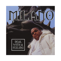 "<!--020000606002141-->Milano - 'Deal With A Feeling/ Rep For The Slums' [(Black) 12"" Vinyl Single]"