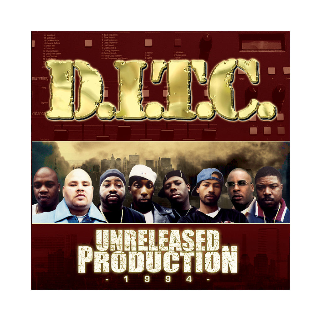 <!--120080722014214-->D.I.T.C. - 'Unreleased Production 1994' [CD]
