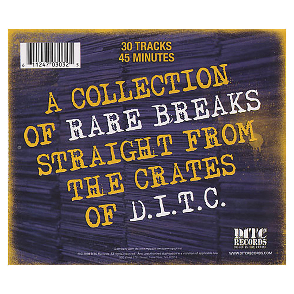 D.I.T.C. - 'Rare Breaks: Stack One' [CD]