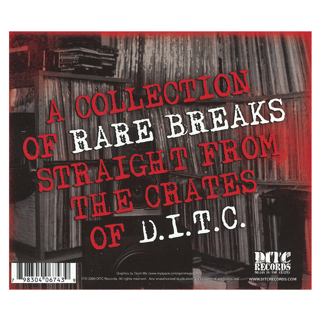 <!--2009101344-->D.I.T.C. - 'Rare Breaks: Stack Two' [CD]