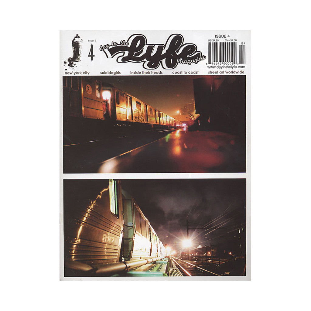 <!--019000101013038-->Day In The Lyfe Magazine - 'Issue 4' [Magazine]