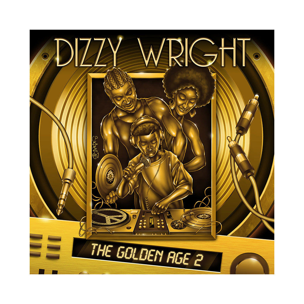 Dizzy Wright - 'The Golden Age 2' [CD]