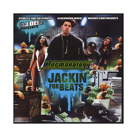 Termanology (Mixed By: DJ Delz) - 'Jackin For Beats' [CD]