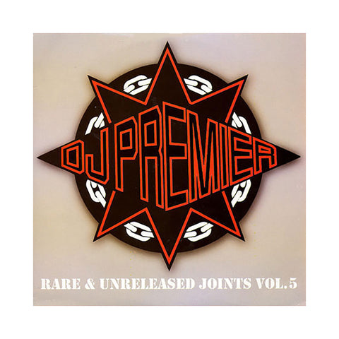 "[""DJ Premier - 'Rare & Unreleased Joints Vol. 5' [(Black) Vinyl [2LP]]""]"