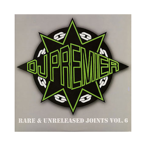 "[""DJ Premier - 'Rare & Unreleased Joints Vol. 6' [(Black) Vinyl [2LP]]""]"