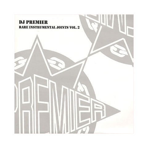 "[""DJ Premier - 'Rare Instrumental Joints Vol. 2' [(Black) Vinyl [2LP]]""]"