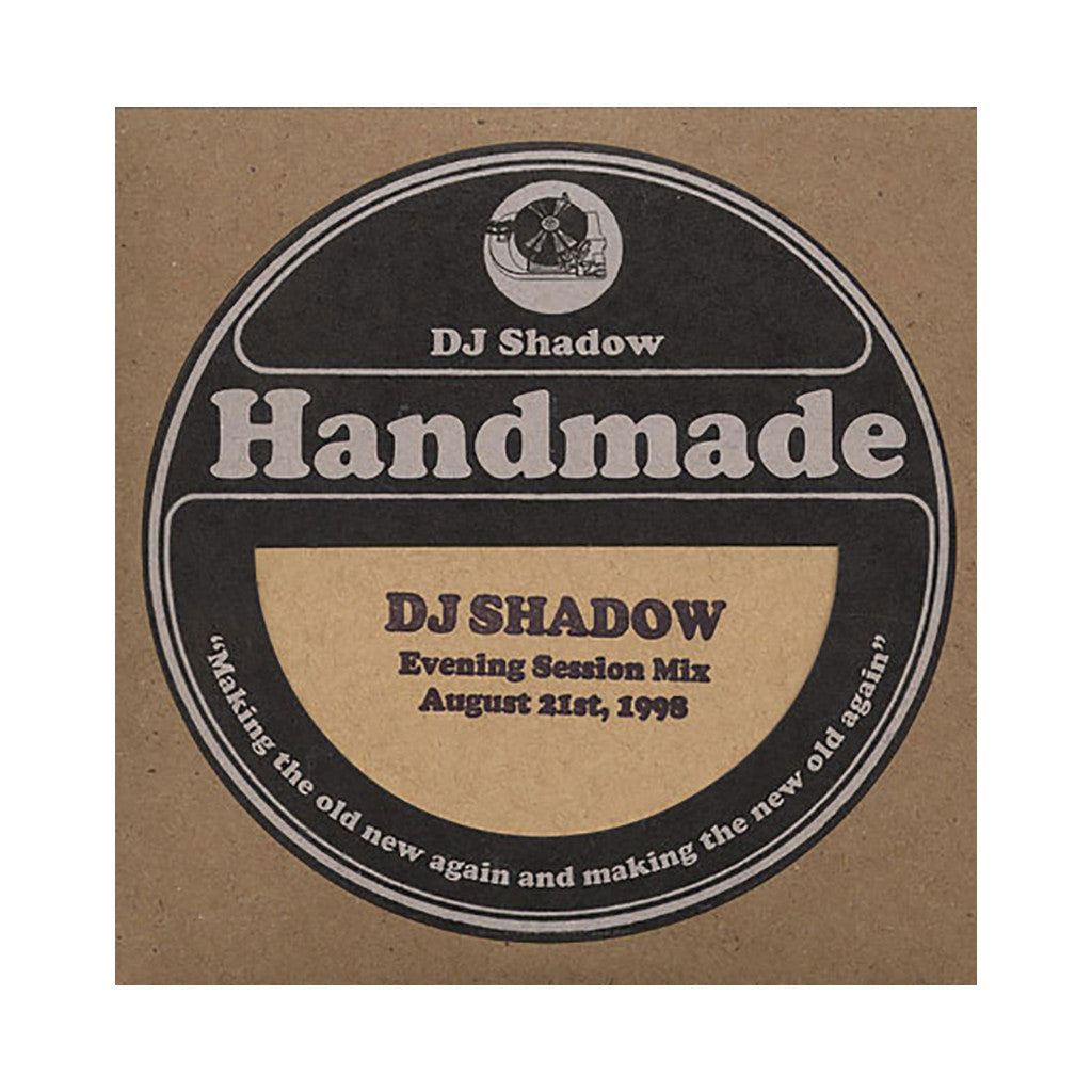 DJ Shadow - 'Evening Session Mix - August 21, 1998' [CD]