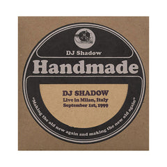 DJ Shadow - 'Live In Milan, Italy - September 1st, 1999' [CD]