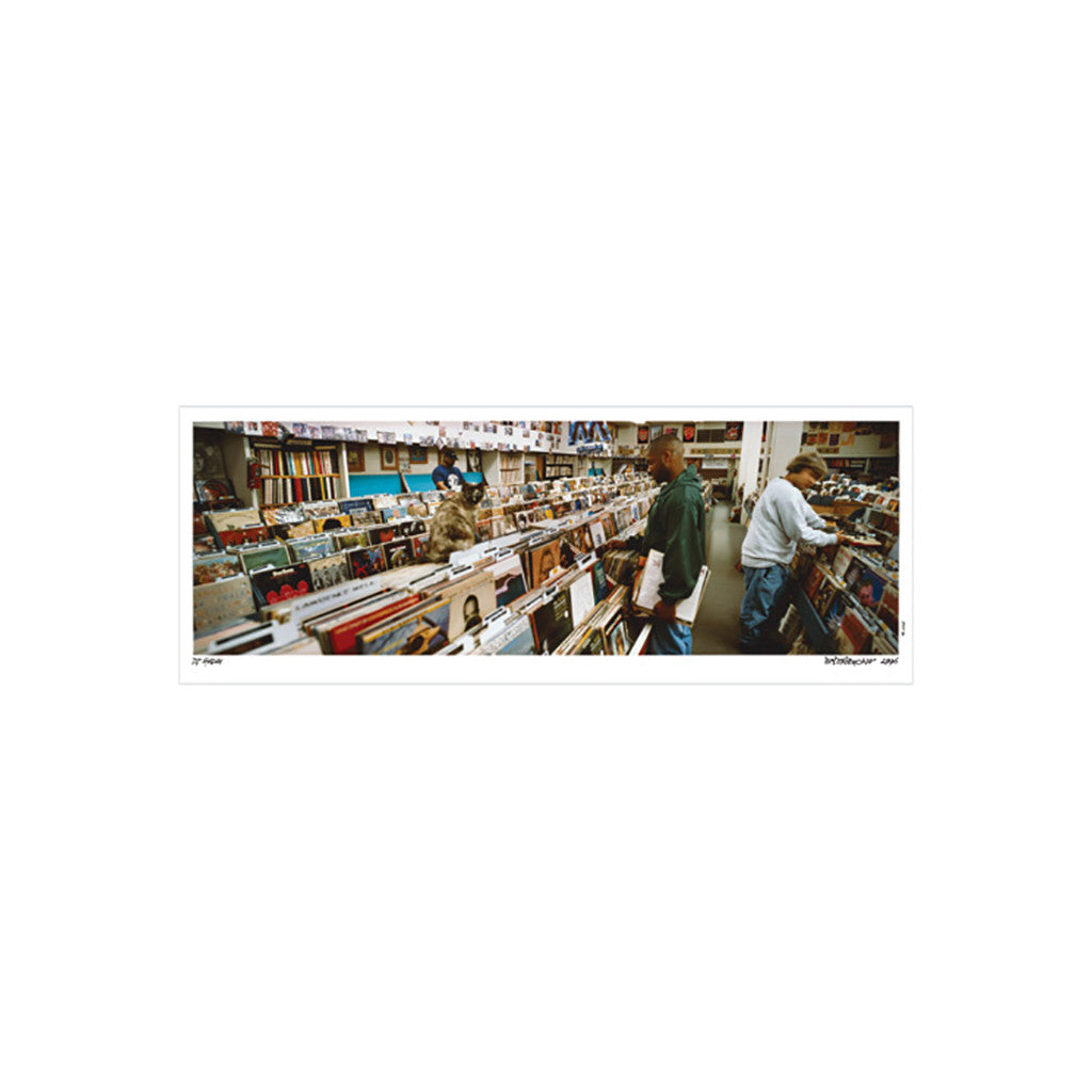 <!--020101228026664-->DJ Shadow - 'Endtroducing Cover - Panoramic' [Posters & Prints]