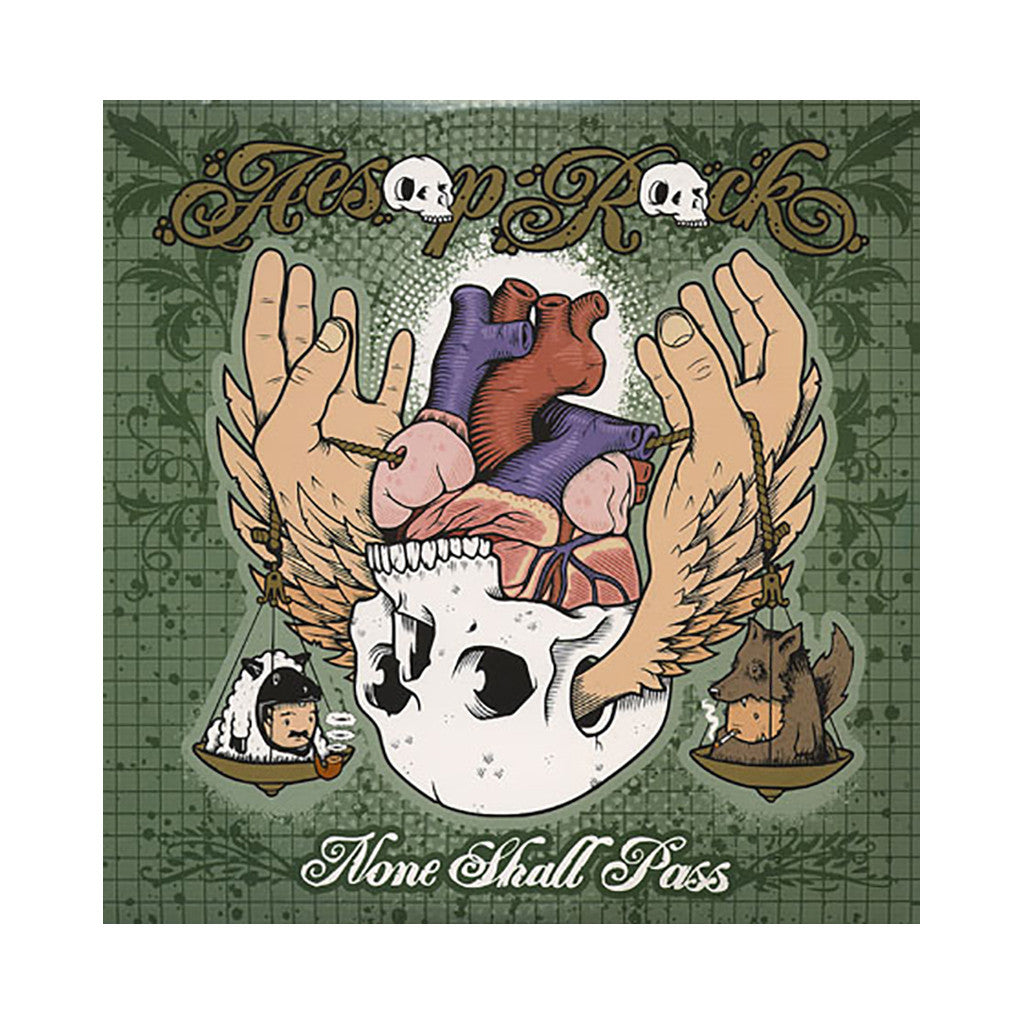 <!--020070828009985-->Aesop Rock - 'None Shall Pass' [CD]