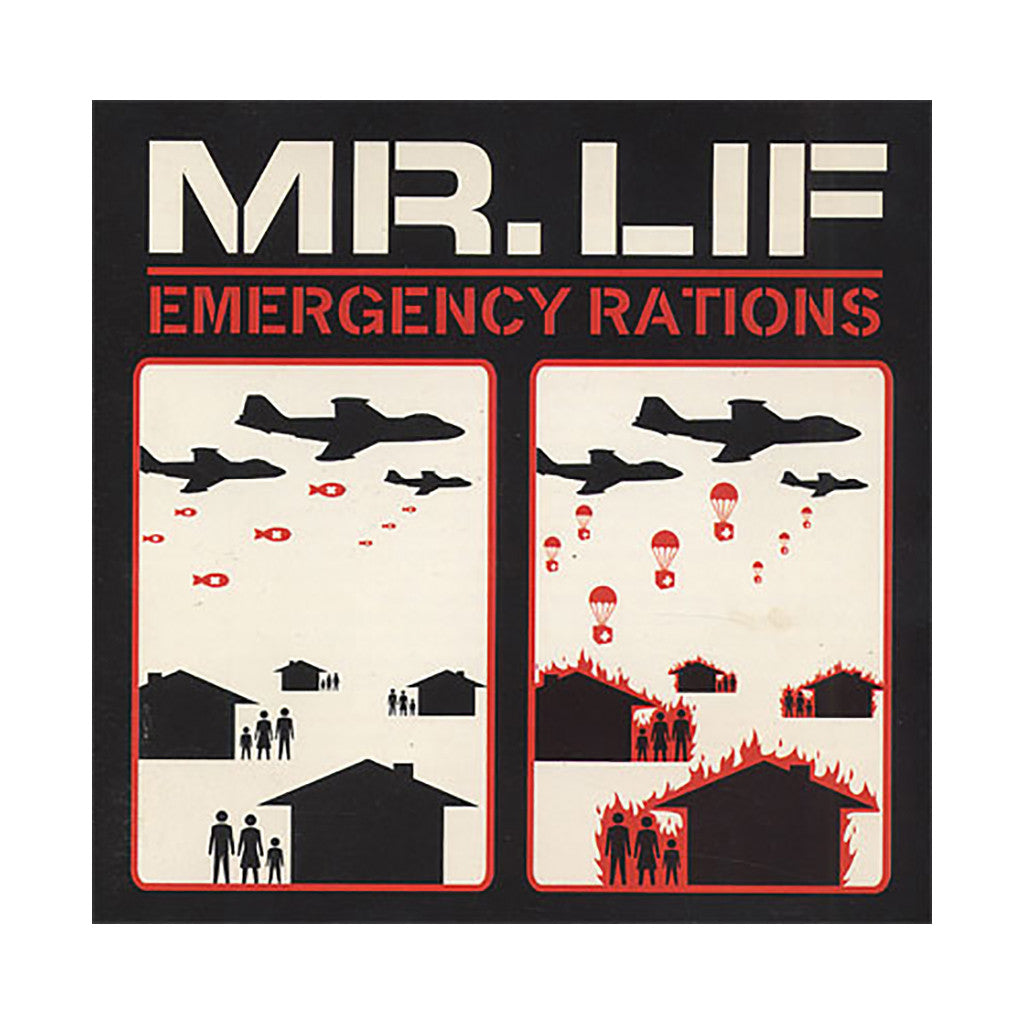 Mr. Lif - 'Emergency Rations' [(Black) Vinyl LP]