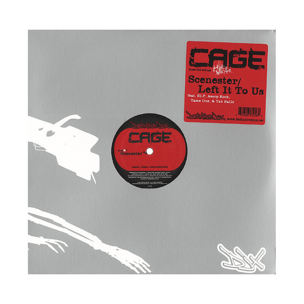 <!--2005092535-->Cage - 'Scenester' [Streaming Audio]