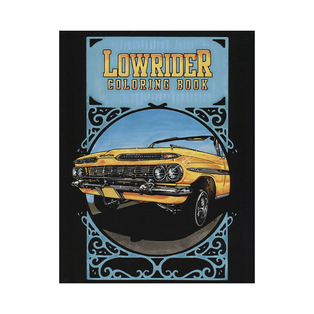 lowrider coloring book book release date author image