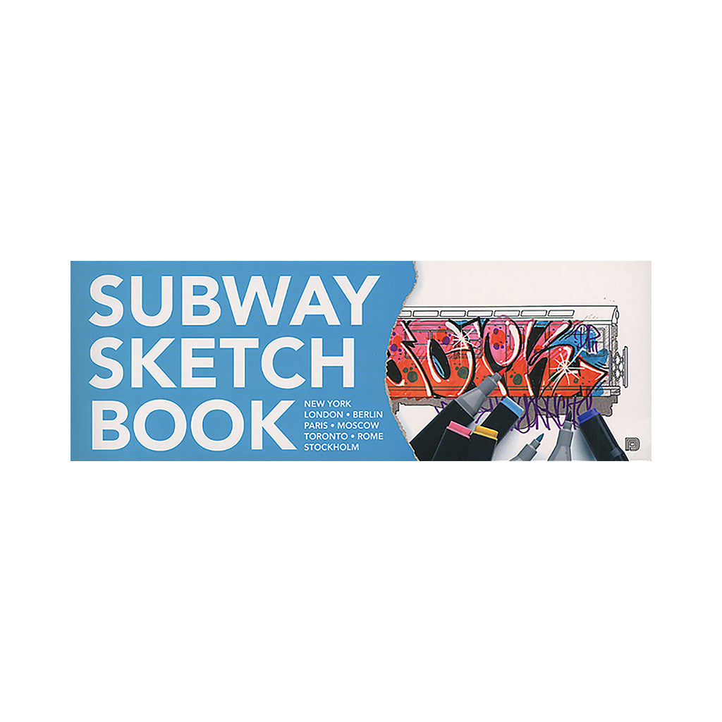 <!--020101115031379-->Martin Ander - 'Subway Sketch Book' [Book]