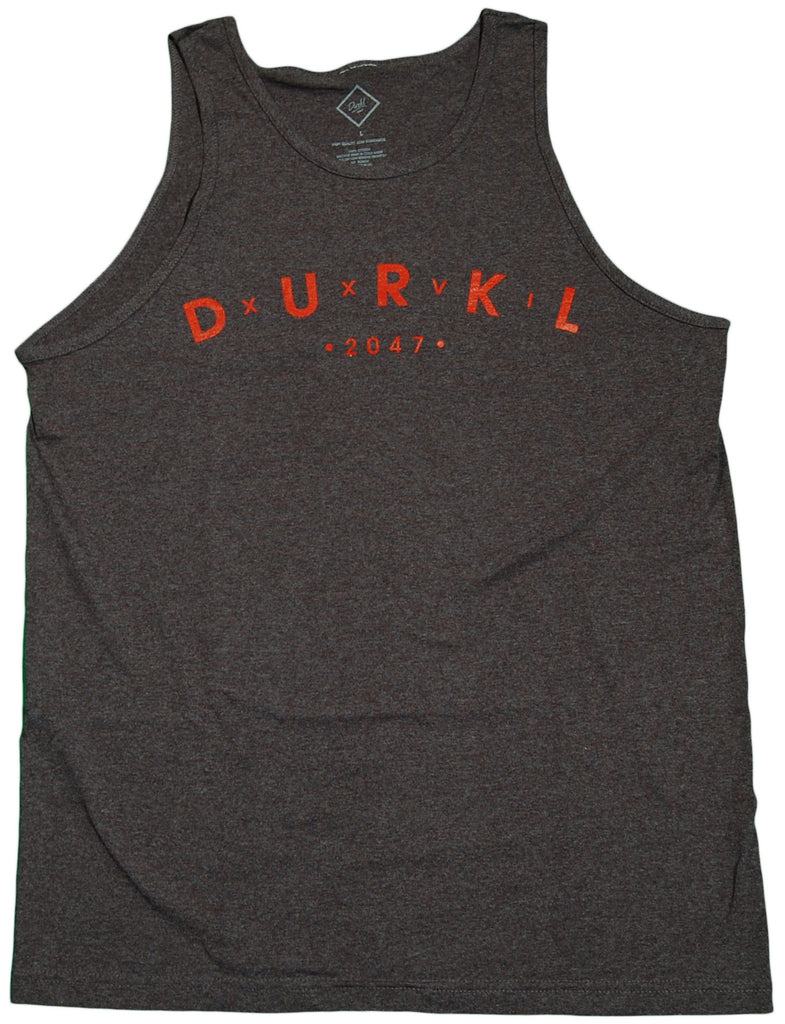 <!--2011070559-->Durkl - 'Roman Arch' [(Dark Gray) Tank Top]