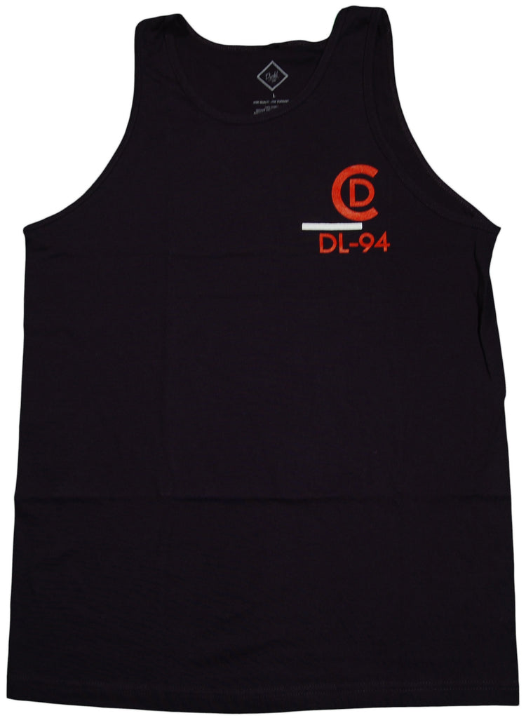 <!--2011070550-->Durkl - 'Competition' [(Dark Blue) Tank Top]
