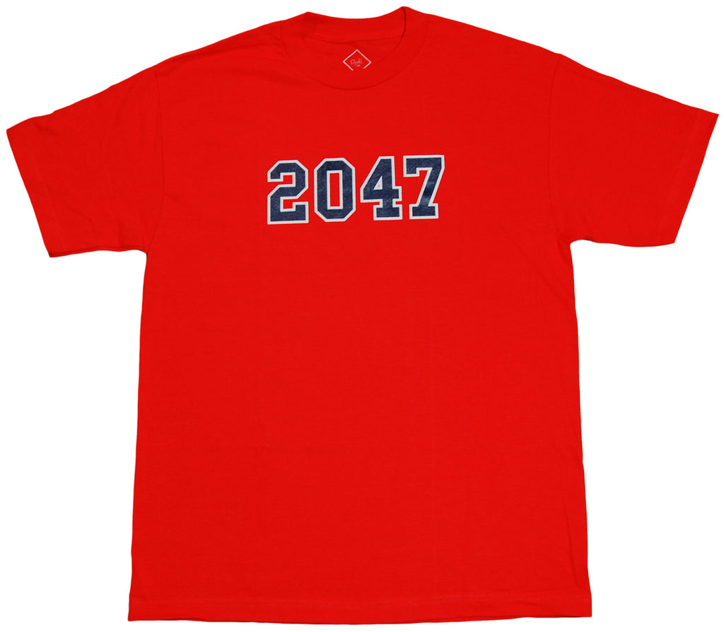 <!--2012022824-->Durkl - '2047' [(Red) T-Shirt]