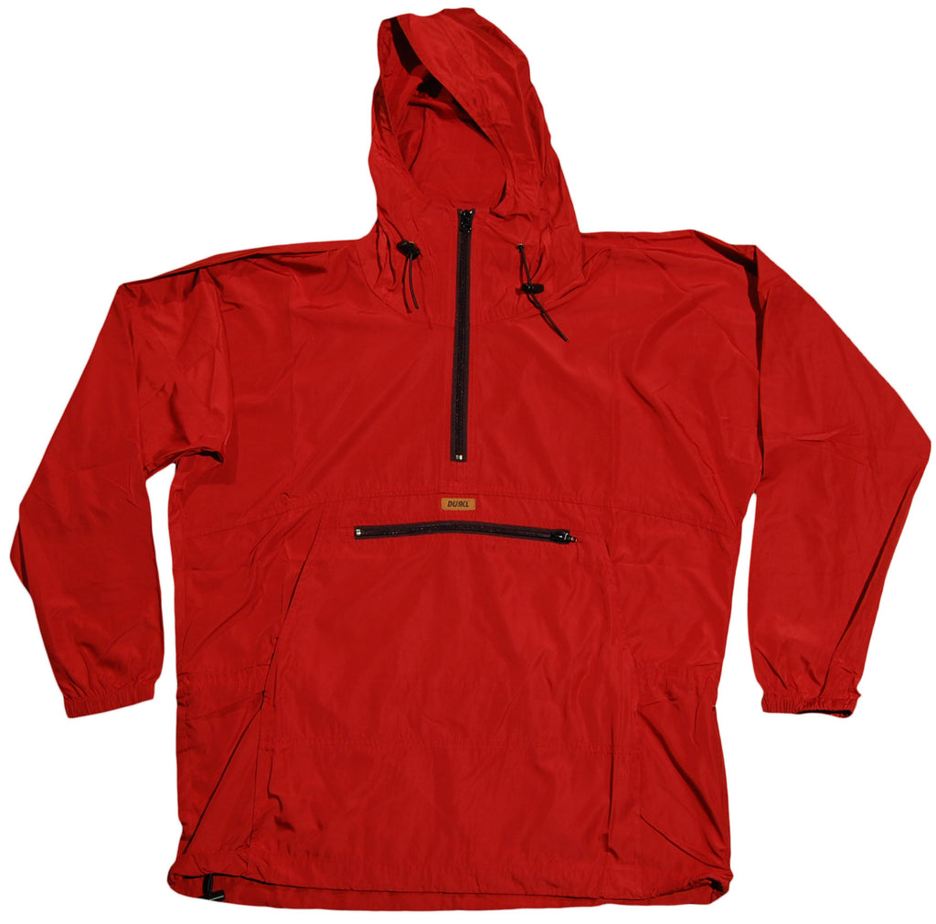 <!--2011110103-->Durkl - 'Kayak Windbreaker' [(Dark Red) Jacket]