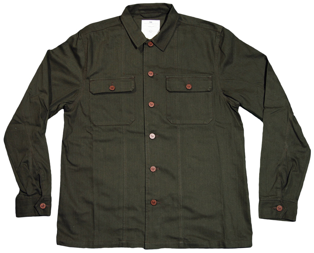 <!--2012022814-->Durkl - 'Standard Issue Military' [(Dark Green) Jacket]