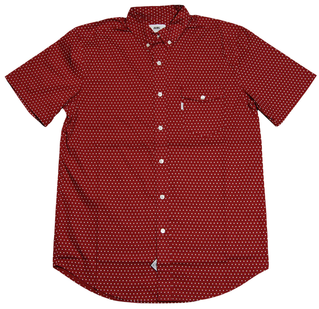 <!--2012060509-->Durkl - 'Star' [(Dark Red) Button Down Shirt]