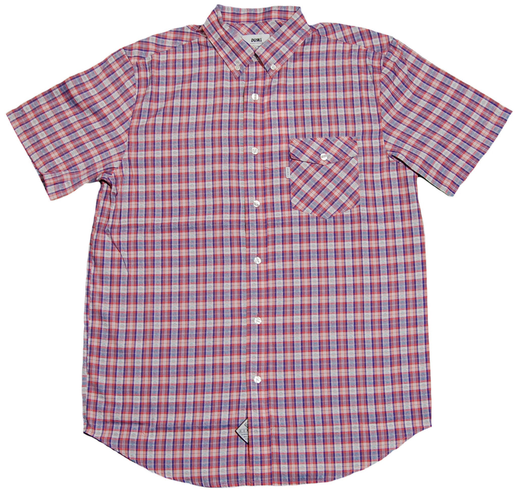 <!--2012060501-->Durkl - 'Bridgehampton Plaid' [(Light Red) Button Down Shirt]