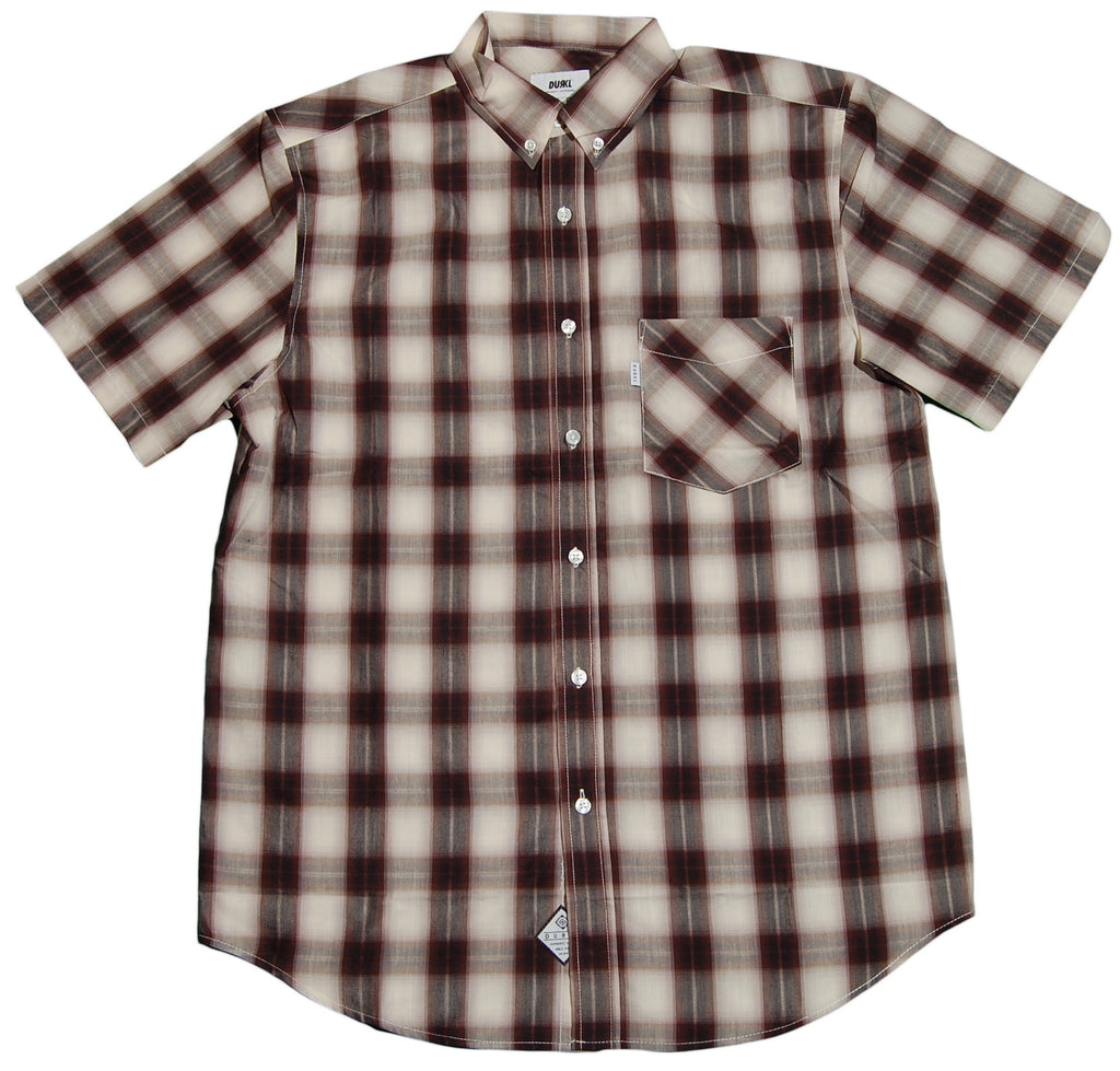 <!--2012030618-->Durkl - 'Mountain Plaid' [(Light Brown) Button Down Shirt]