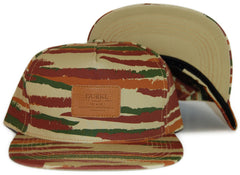 <!--020120320043288-->Durkl - 'Brush Camo - Tan' [(Camo Pattern) Snap Back Hat]
