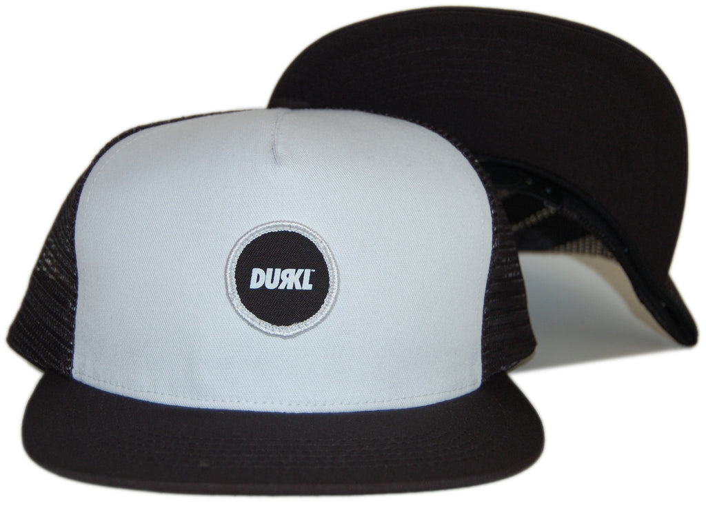 <!--020120626046489-->Durkl - 'Circle Trucker' [(Black) Snap Back Hat]