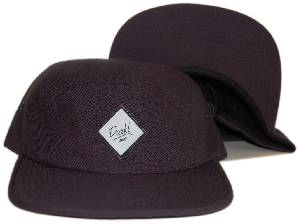 <!--020121113051841-->Durkl - 'Classic Wool' [(Dark Blue) Five Panel Camper Hat]