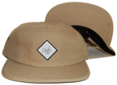 <!--020121113051840-->Durkl - 'Classic Wool' [(Light Brown) Five Panel Camper Hat]
