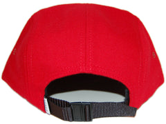 <!--020121113051839-->Durkl - 'Classic Wool' [(Red) Five Panel Camper Hat]