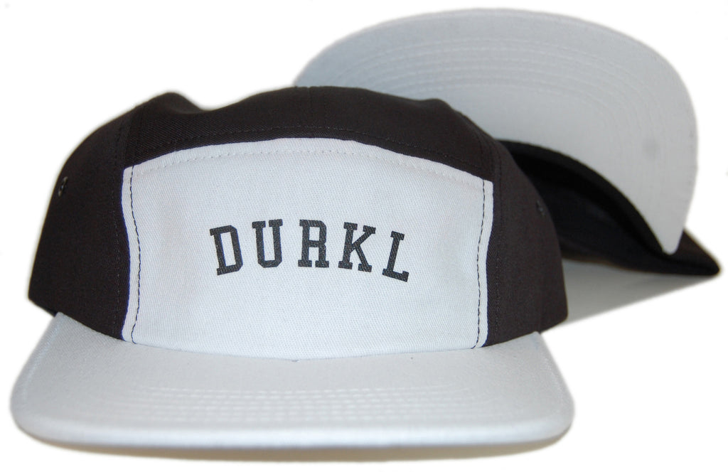 <!--020121113051847-->Durkl - 'Baseball Raglan' [(Black) Five Panel Camper Hat]
