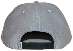 <!--020121113051838-->Durkl - 'Oxford' [(Light Gray) Snap Back Hat]