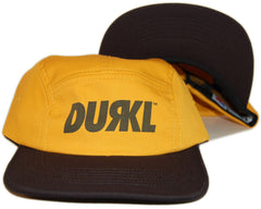 <!--020130716058257-->Durkl - 'Dugout' [(Dark Yellow) Five Panel Camper Hat]