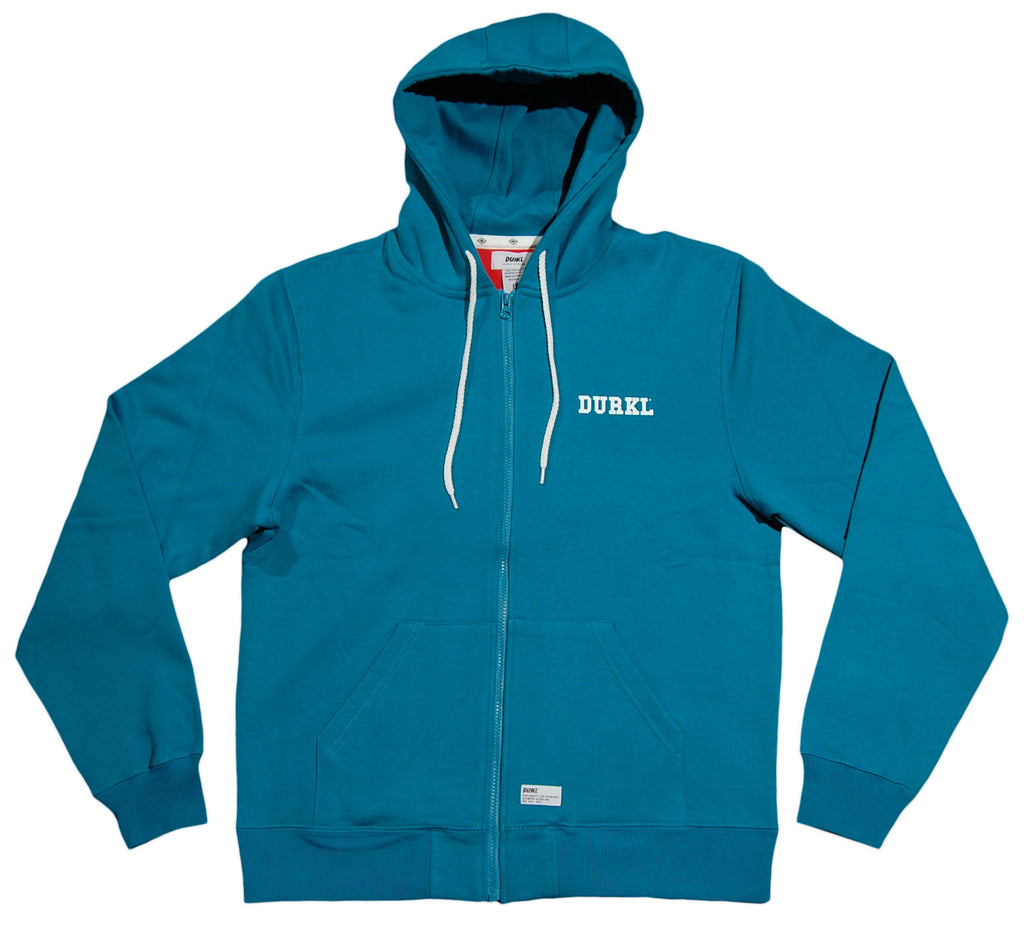 <!--2012111355-->Durkl - 'Collegiate' [(Light Blue) Hooded Sweatshirt]