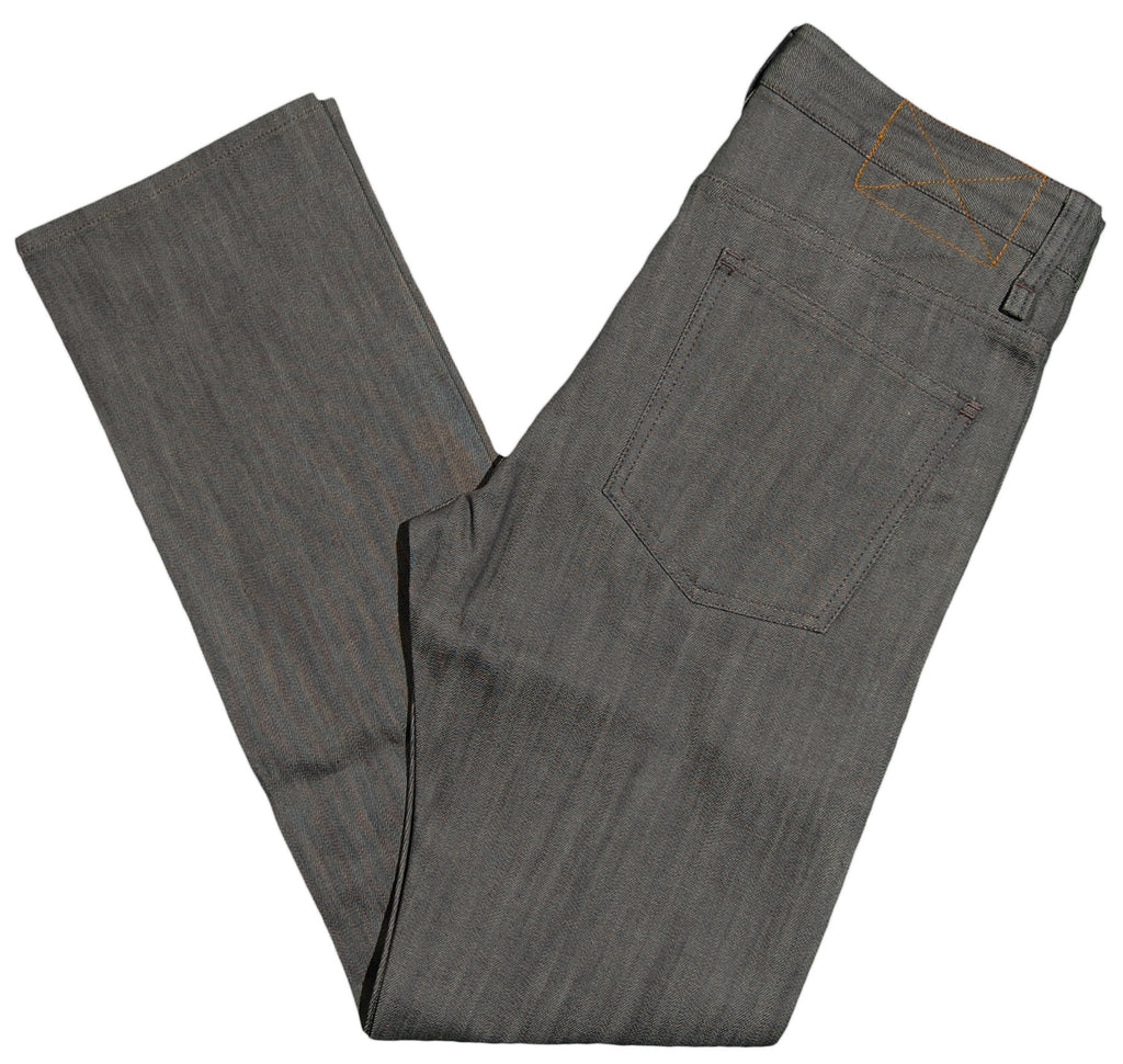 <!--2012100205-->Durkl - '443 Selvege Denim' [(Gray) Jeans]