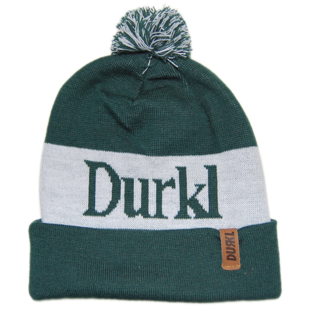 <!--020130205053835-->Durkl - 'Winston' [(Dark Green) Winter Beanie Hat]