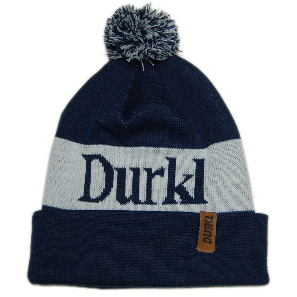 <!--020130205053836-->Durkl - 'Winston' [(Dark Blue) Winter Beanie Hat]