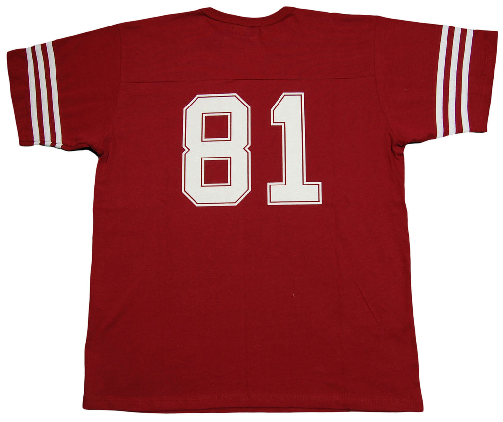 <!--2013061854-->Durkl - 'Maltman Football Jersey' [(Dark Red) T-Shirt]