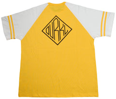 <!--2013061830-->Durkl - 'Monogram Raglan Football Jersey' [(Dark Yellow) T-Shirt]