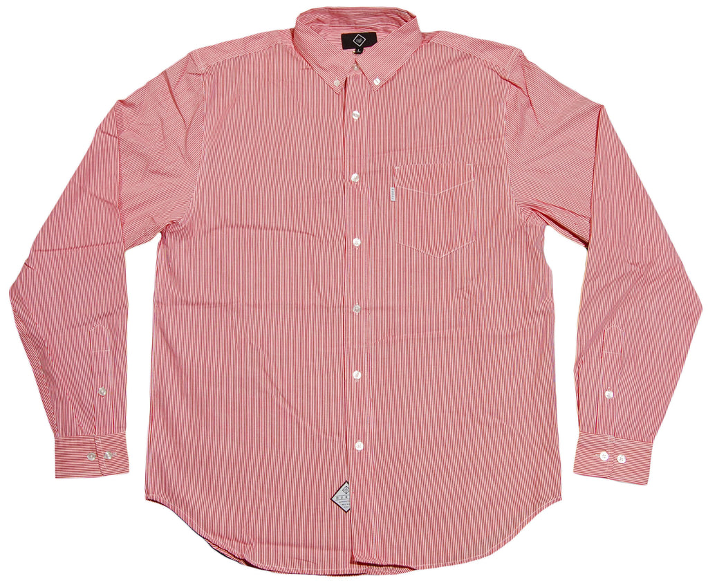 <!--2012011036-->Durkl - 'Pincord' [(Light Red) Button Down Shirt]