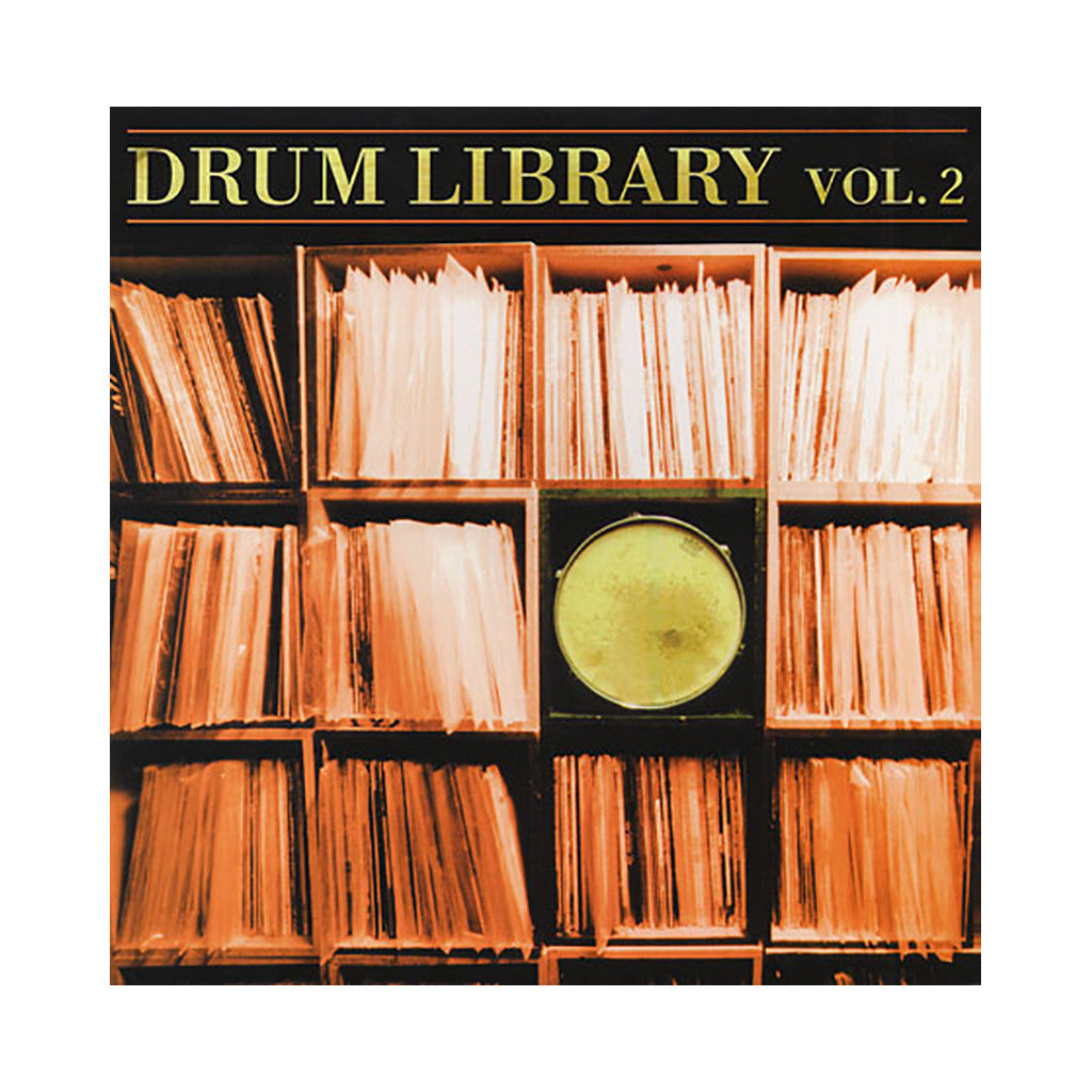 Paul Nice - 'Drum Library Vol. 02' [(Black) Vinyl LP]
