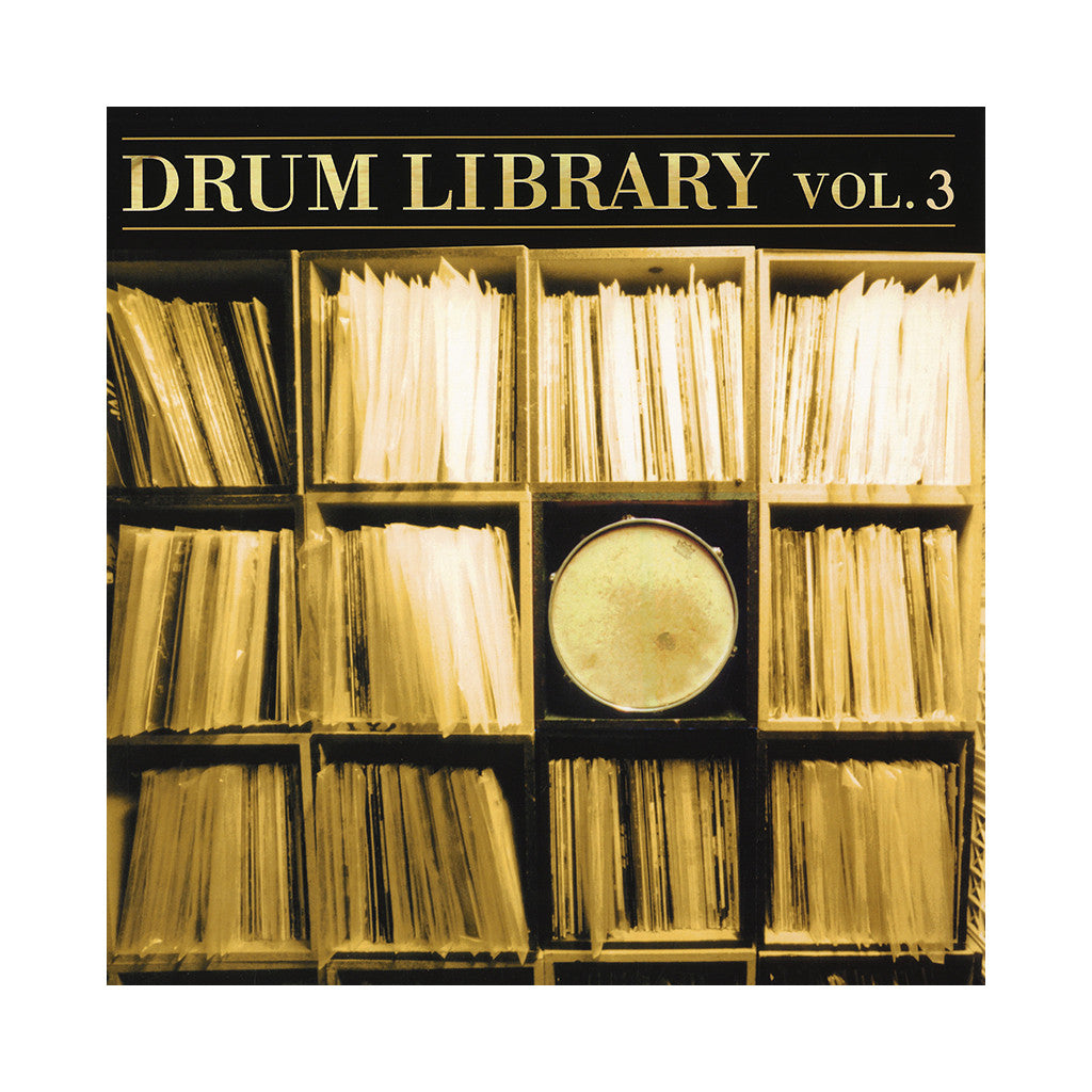 <!--120020115013783-->Paul Nice - 'Drum Library Vol. 03' [(Black) Vinyl LP]