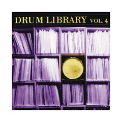 Paul Nice - 'Drum Library Vol. 04' [(Black) Vinyl LP]