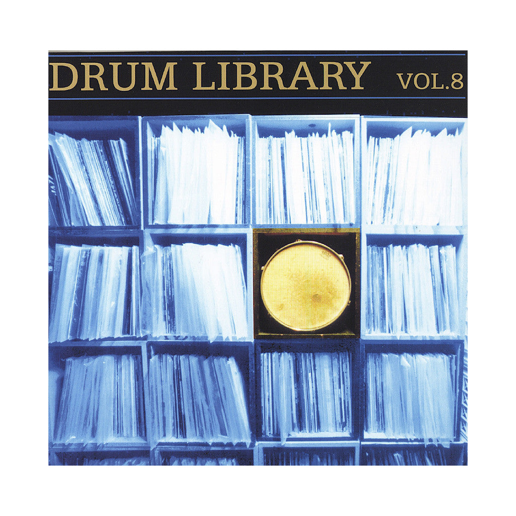 <!--120130430033261-->Paul Nice - 'Drum Library Vol. 08' [(Black) Vinyl LP]