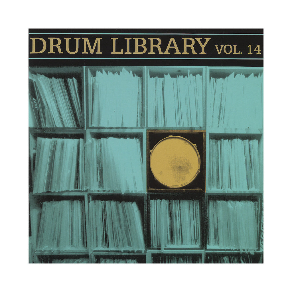 Paul Nice - 'Drum Library Vol. 14' [(Black) Vinyl LP]