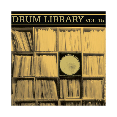 Paul Nice - 'Drum Library Vol. 15' [(Black) Vinyl LP]