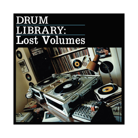 Paul Nice - 'Drum Library: The Lost Volumes' [(Black) Vinyl [2LP]]