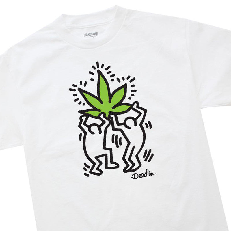 <!--020150303068694-->Deadline x Keith Haring - 'Haring' [(White) T-Shirt]
