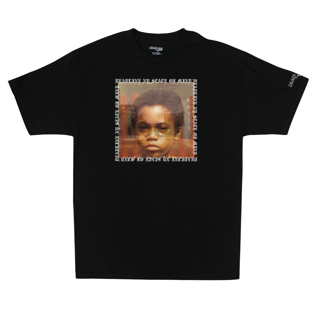 <!--2015012131-->Deadline (Nas) - 'NY State Of Mind' [(Black) T-Shirt]